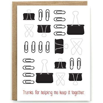 Keep it Together Card [Public School Paper Co.]