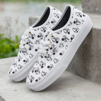 Trendsetter VANS X Disney Mickey Mouse Canvas Old Skool Flats Sneakers Sport Shoes