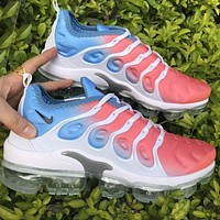 Nike Air Max Vapormax Plus TN-81 Vascular Atmosphere Pad Pink Toe Blue Tail