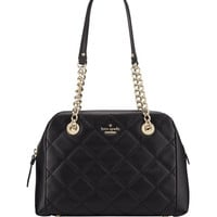 kate spade new york emerson place dewy quilted shoulder bag, black