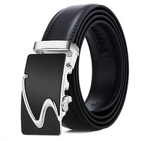 Men Belt Male Genuine Leather Belt Men Strap Belts For Men Automatic Buckle Black Men'S Belts