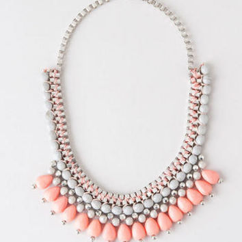OSLO BEADED STATEMENT NECKLACE