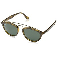 Ray-Ban Womens Gatsby Ii Sunglasses (RB4257) Tortoise/Green Plastic - Non-Polarized