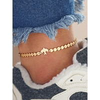Bird Detail Anklet