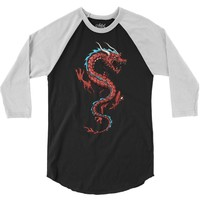 chinese dragon 3/4 Sleeve Shirt