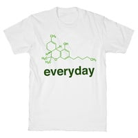 Weed Science THC White Unisex T Shirt