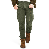 COTTON CHINO CARGO PANT