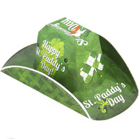St. Paddy's Day Beer Box Stetson Style Hat
