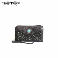 Montana West TR14-W003 Trinity Ranch Tooled Wallet