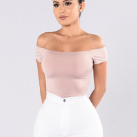 Rhythm Of the Night Bodysuit - Mauve