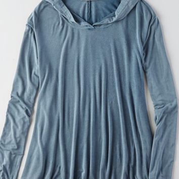 AEO Women's Don't Ask Why Oversized Hoodie