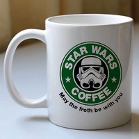 Gift custom mug  Star Wars Coffee  custom cup for family and friends