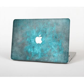 The Grungy Bright Teal Surface Skin for the Apple MacBook Air 13""