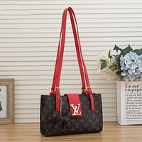 LV Louis Vuitton Fashion Leather Chain Crossbody Shoulder Bag Satch