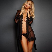 Cute On Sale Hot Deal Sexy Dress Lace Gowns Exotic Lingerie [6596446915]