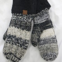 Andes Mittens - Black