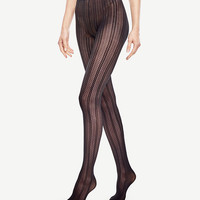 Floral Pointelle Tights | Ann Taylor
