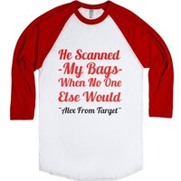 Alex From Target-Unisex White/Red T-Shirt