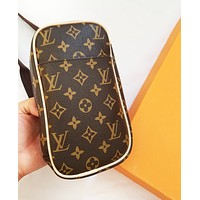 LV Louis Vuitton Newest Fashion Women Leather Purse Waist Bag Shoulder Bag Satchel