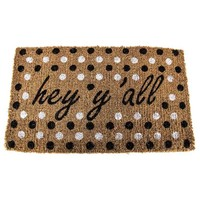 Hey Y'all Polka Dot Doormat | Hobby Lobby | 311043