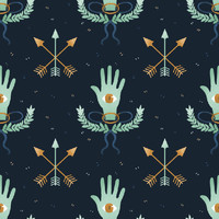 Emma Trithart's Secret Society Removable Wallpaper