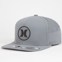 Hurley Icon Mens Dri-Fit Snapback Hat Grey