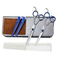 6 inches Cutting Tools Barber Hairdressing Tool Set Hair Cutting Thinning Scissors Shears Hair Scissor Styling Stainless Steel