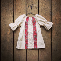 Girls Gypsy Dress, Fall Dress, Bohemian, Baby Thanksgiving Dress, coming home outfit, toddler, sizes Newborn to 11/12, Autumn