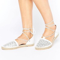 New Look | New Look Laser Cut Espadrille at ASOS
