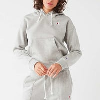 Champion + UO Double Hoodie Sweatshirt | Urban Outfitters