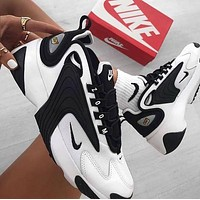 Nike zoom new couple models platform casual sneakers Shoes Black