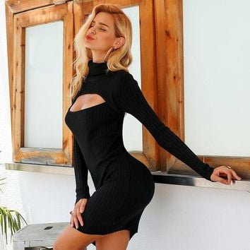 Surprise Dress - Black