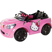 Walmart: Hello Kitty Coupe 6-Volt Battery-Powered Ride-On