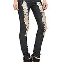 Girls: Blue Jeans and Denim Jackets, Pants, Shorts, & Skirts   Hot Topic