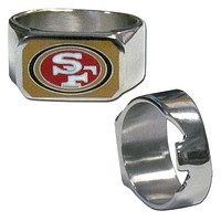 San Francisco 49ers Steel Ring