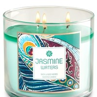 3-Wick Candle Jasmine Waters
