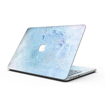 The Light Blue Cratered Moon Surface - MacBook Pro with Retina Display Full-Coverage Skin Kit