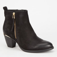 Steve Madden Wantagh Womens Boots Black  In Sizes