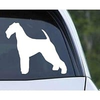 Airedale Terrier Dog (04) Die Cut Vinyl Decal Sticker