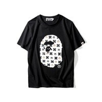 Round-neck Cotton Cartoons T-shirts [211450101772]