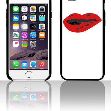 Sexy Mouth Bite Lip 5 5s 6 6plus phone cases