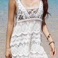Lace Swimsuit Cover-Up