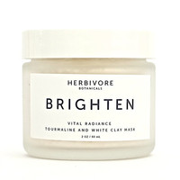 Brighten Facial Mask. All Natural. Skin Care. Gemstone Skin Care.