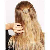 Gold Hair Accessories Headwear Hair Clip Accessory [6056796481]