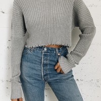 Noura Shoulder Sweater - More Colors