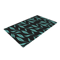 "Louise ""Unnamed"" Blue Black Woven Area Rug"