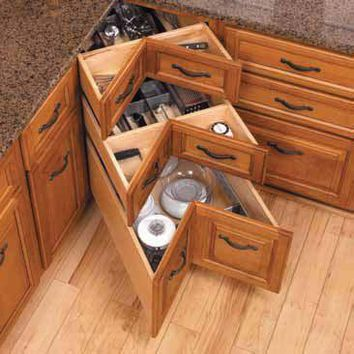 corner cabinets for small kitchens