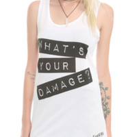 Heathers: The Musical What's Your Damage Girls Tank Top
