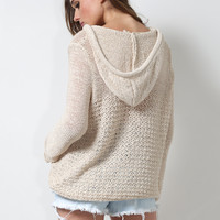 Gab & Kate Harbor Breeze Sweater - Tan