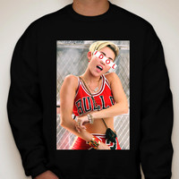 "Miley Cyrus ""Idol"" Crewneck Sweatshirt"